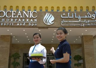 Oceanic Khorfakkan Resort & Spa Emiraty Arabskie, Sharjah, Khor Fakkan