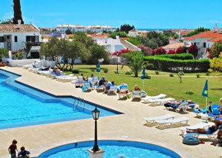 Pedras Da Rainha Portugalia, Algarve, Cabanas