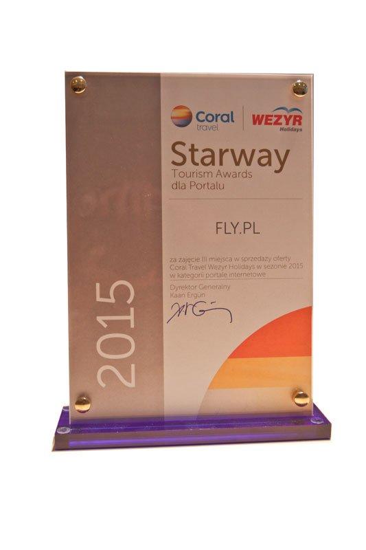 Starway Tourism Awards dla Portalu FLY.PL