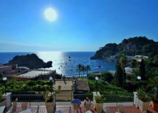 Baia Azzurra Włochy, Sycylia, Taormina