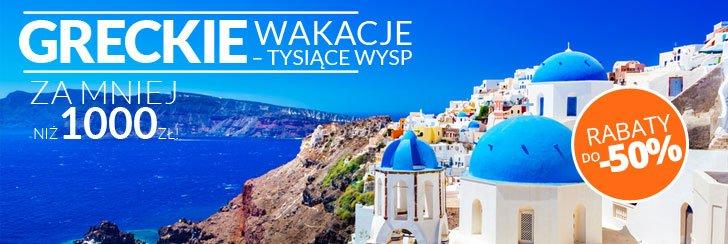 Najtańsze wakacje Grecja FLY.PL