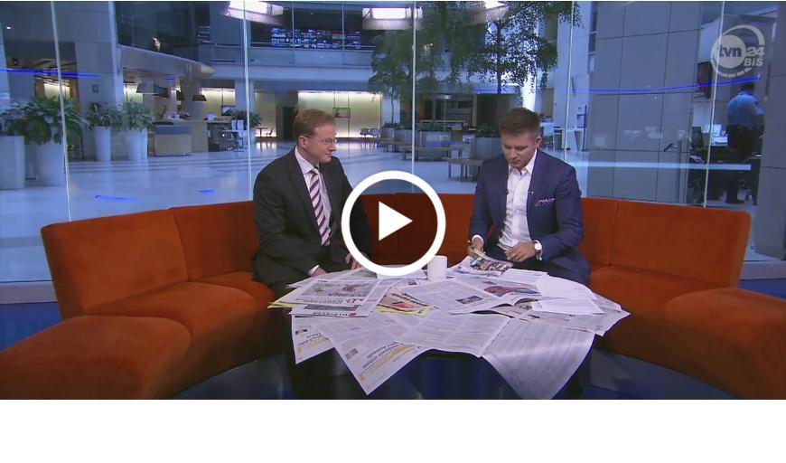 Wakacje za 500+? Maciej Nykiel w TVN24