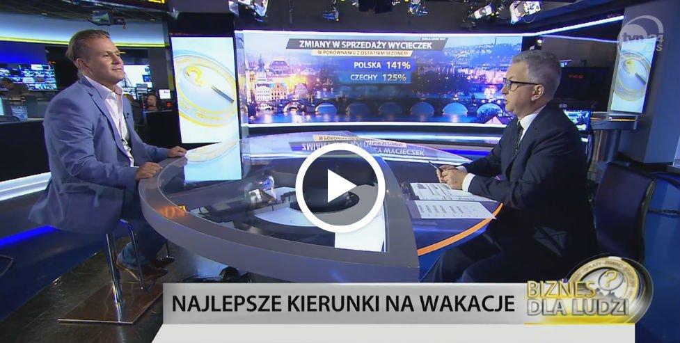 Grzegorz Bosowski w TVN 24 BiŚ