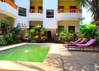 V & M Calisto Guest House Indie, Goa, Mandrem