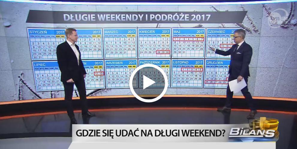 Majówka 2017 - M. Nykiel z FLY.PL w TVN24