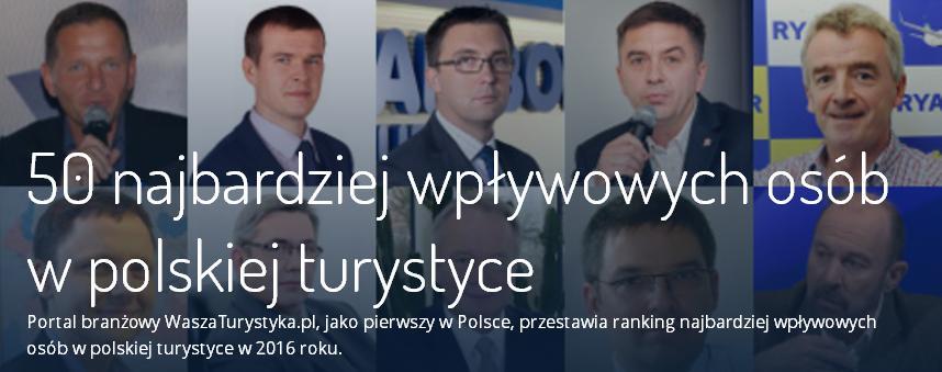 Grzegorz Bosowski na 30 miejscu w rankingu najbardziej wpływowych osób w polskiej turystyce