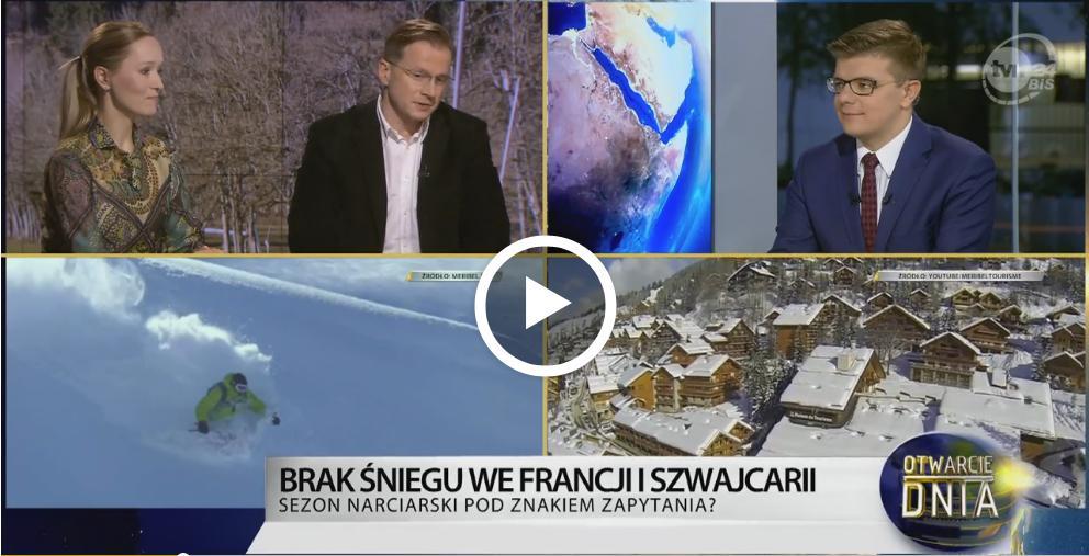 Kurorty narciarskie - Maciej Nykiel z FLY.PL w TVN24 BiŚ
