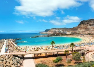 Sahara Beach (Playa del Ingles) Hiszpania, Gran Canaria, Playa del Ingles