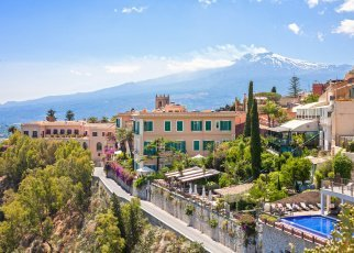 Senior Voyage - Sycylia Włochy, Sycylia, Giardini Naxos