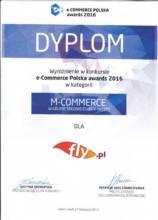 Wyróżnienie m-Commerce Polska awards 2016