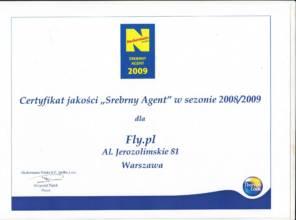 """Certyfikat jakości """"Srebrny Agent"""" od Neckermann Polska"""