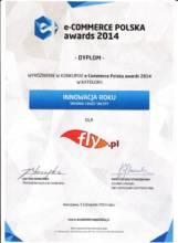 Wyróżnienie w konkursie e-Commerce Polska awards 2014