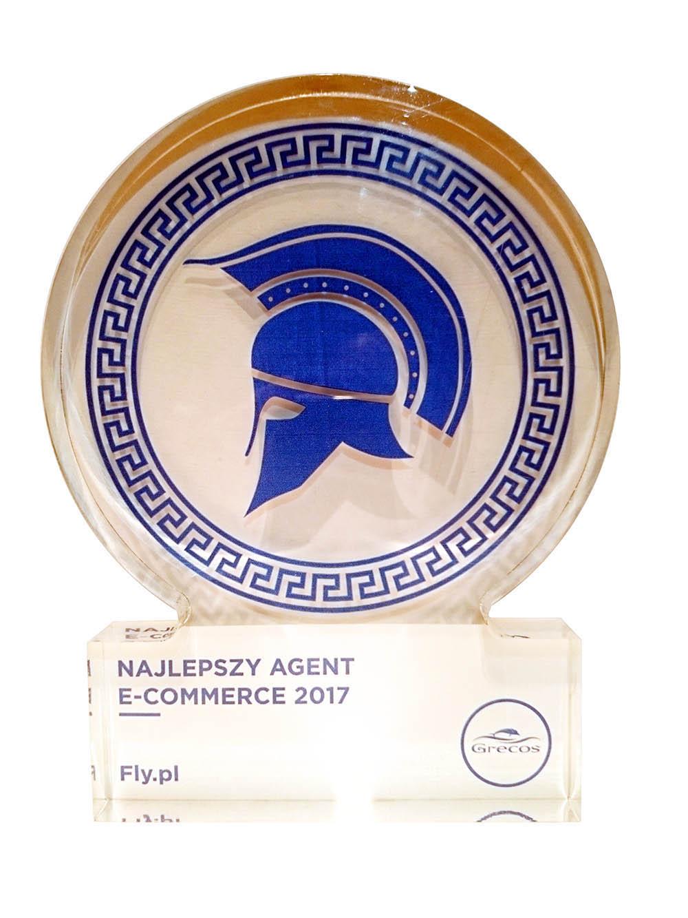 Nagroda Najlepszy Agent e-commerce 2017 od Grecos Holiday
