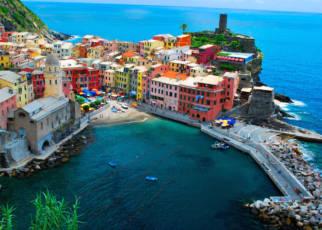 Liguria - Lazurowe Wybrzeże Księstwo Monako, Wyc. objazdowe