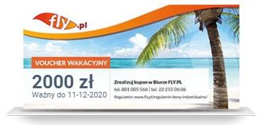 Bon Wakacyjny FLY.PL dla firm