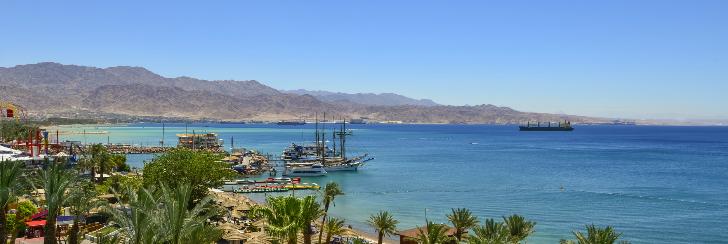 Ejlat Izrael - wczasy nad Morzem Czerwonym