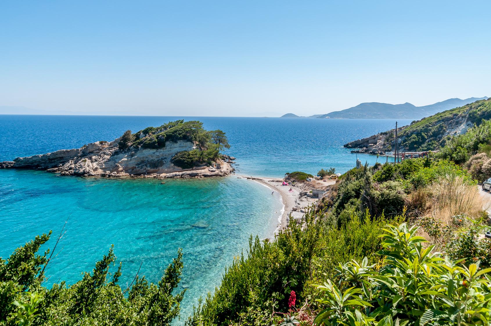 Grecka wyspa Samos na wakacje 2018!