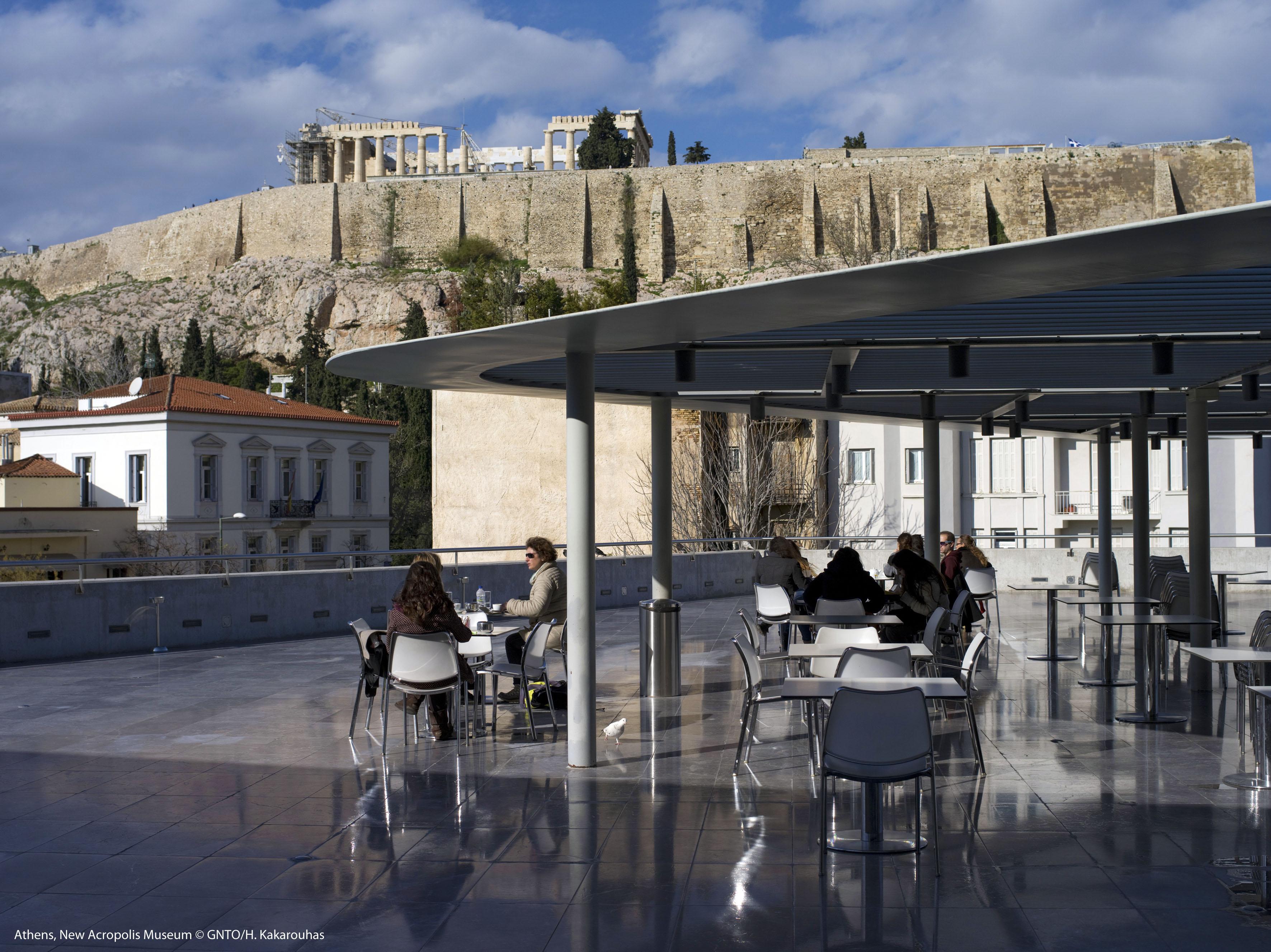 Ateny – widok na Akropol