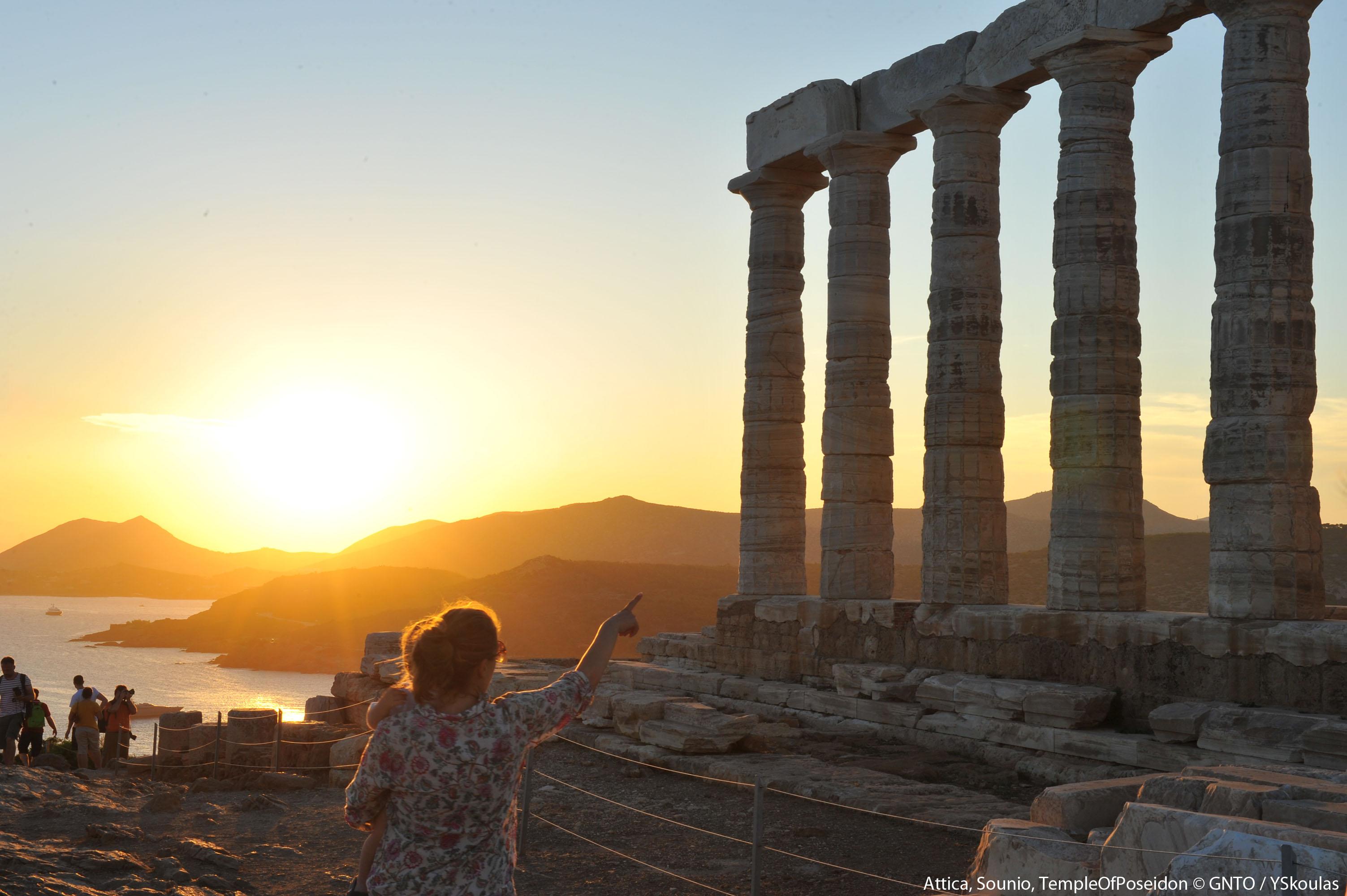 Grecja Sunion – świątynia Posejdona