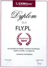 Dyplom Wyjątkowy Agent od Exim Tours Polska