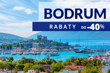 Sprawdź ofertę wczasów w Bodrum!