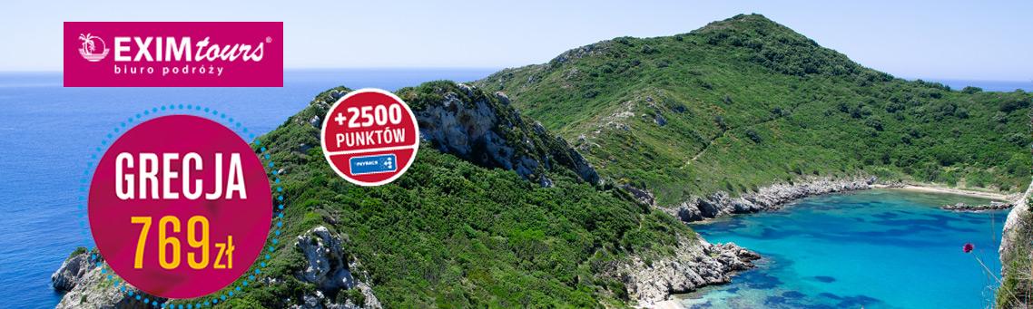 Wakacje w Grecji z Exim Tours!