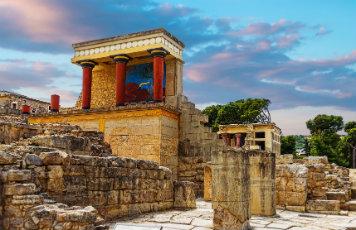 Pałac w Knossos Kreta