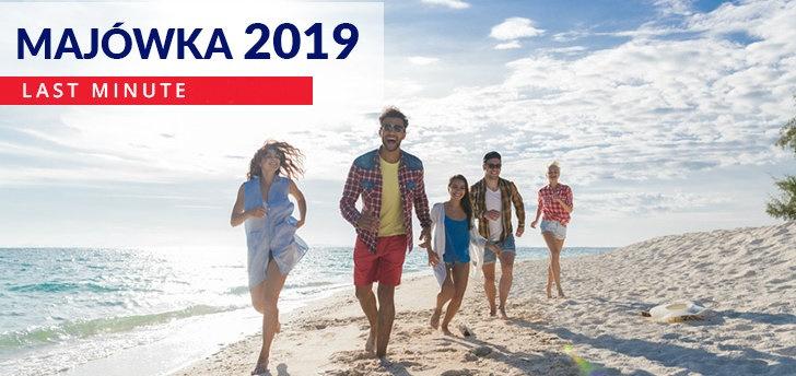Majówka 2019 - sprawdź najlepsze oferty!