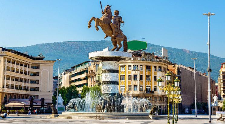 Plac Macedoński, Skopje