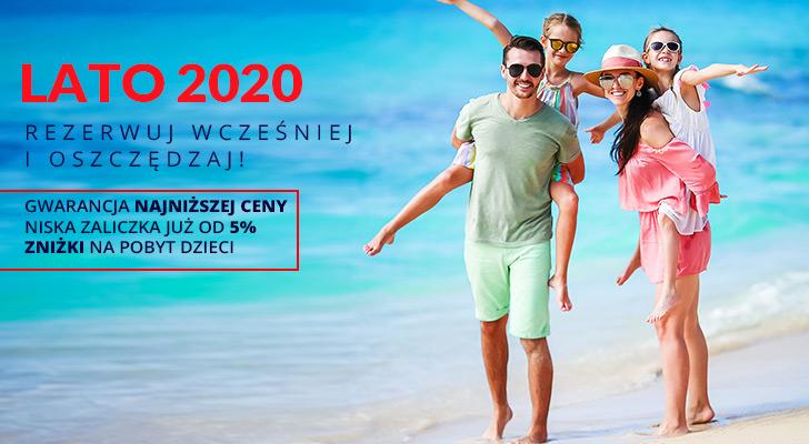 Sprawdź ofertę na Lato 2020!